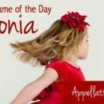 Antonia: Baby Name of the Day