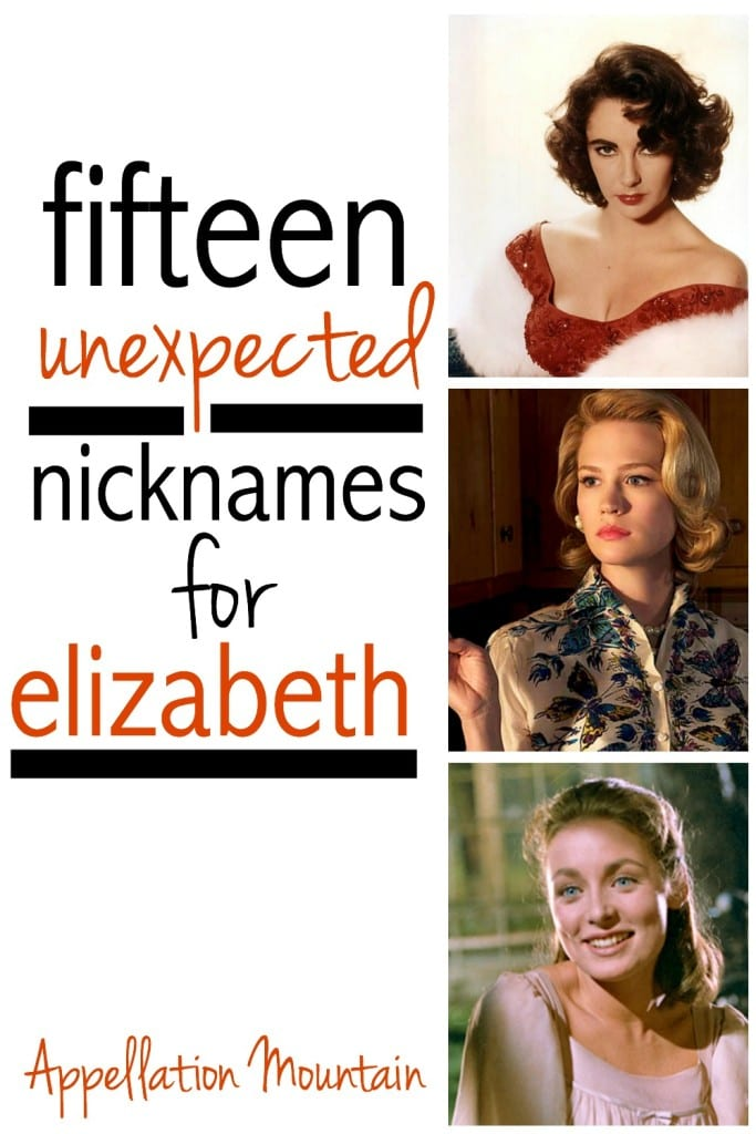 Elizabeth nicknames