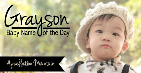 Grayson - Meaning of Grayson, What does Grayson mean?  |Grayson Name