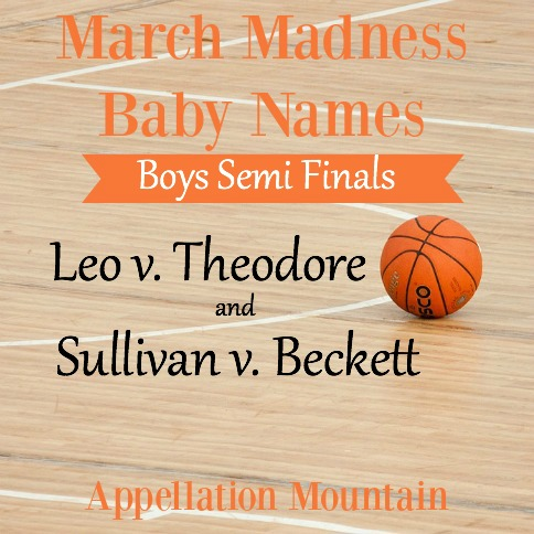 March Madness Baby Names 2016: Boys Semi Finals