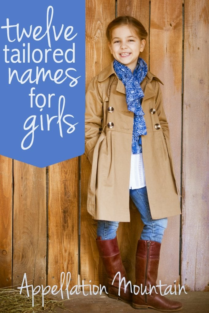 tailored names for girls