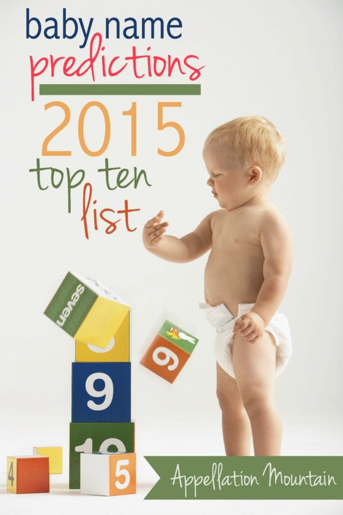 2015 Top Ten list
