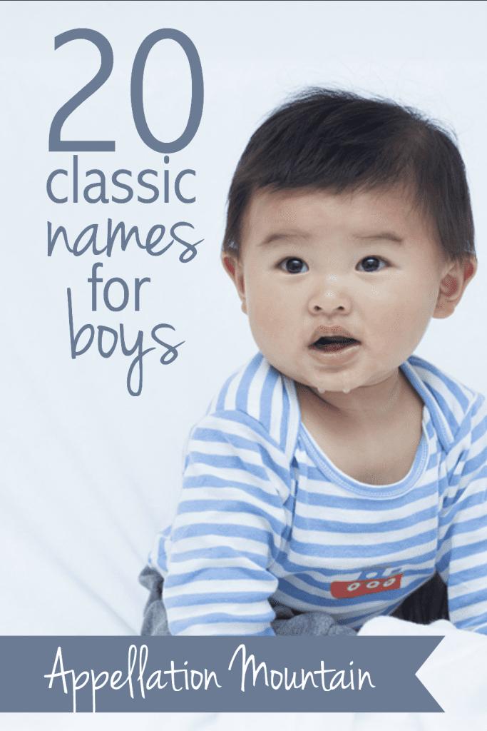 Classic Boy Names
