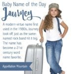 Journey: Baby Name of the Day