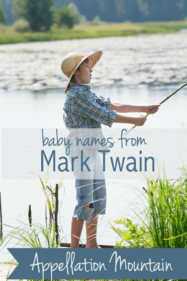 Mark Twain baby names