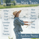 Mark Twain Baby Names: Sawyer and Finn