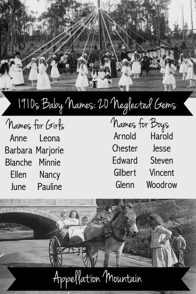 1910s Baby Names