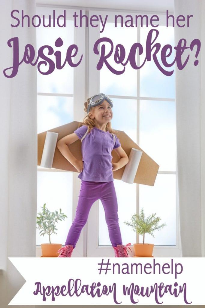 Name Help: Josie Rocket?