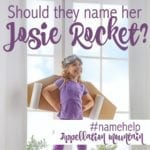 Name Help: Josie Rocket?