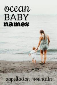 ocean baby names