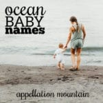 Ocean Baby Names: Summery Nature Names