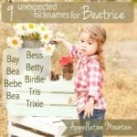 9 Unexpected Nicknames for Beatrice