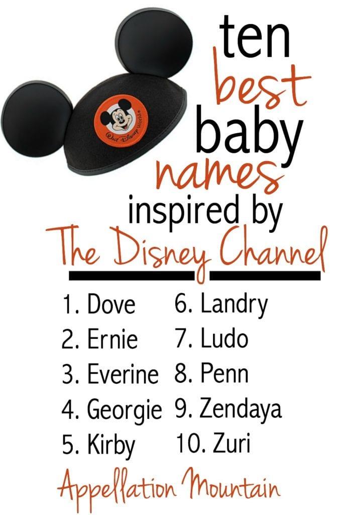 best Disney Channel names