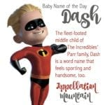 Dash: Baby Name of the Day