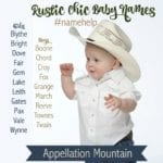 Name Help: Rustic Chic Baby Names
