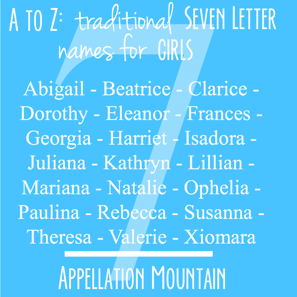 letter a name for girl a to z seven letter traditional names appellation 12003