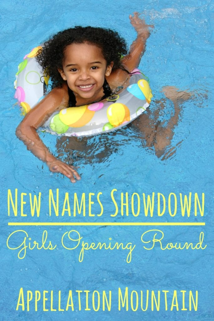 New Names Showdown 2016 girls opening round