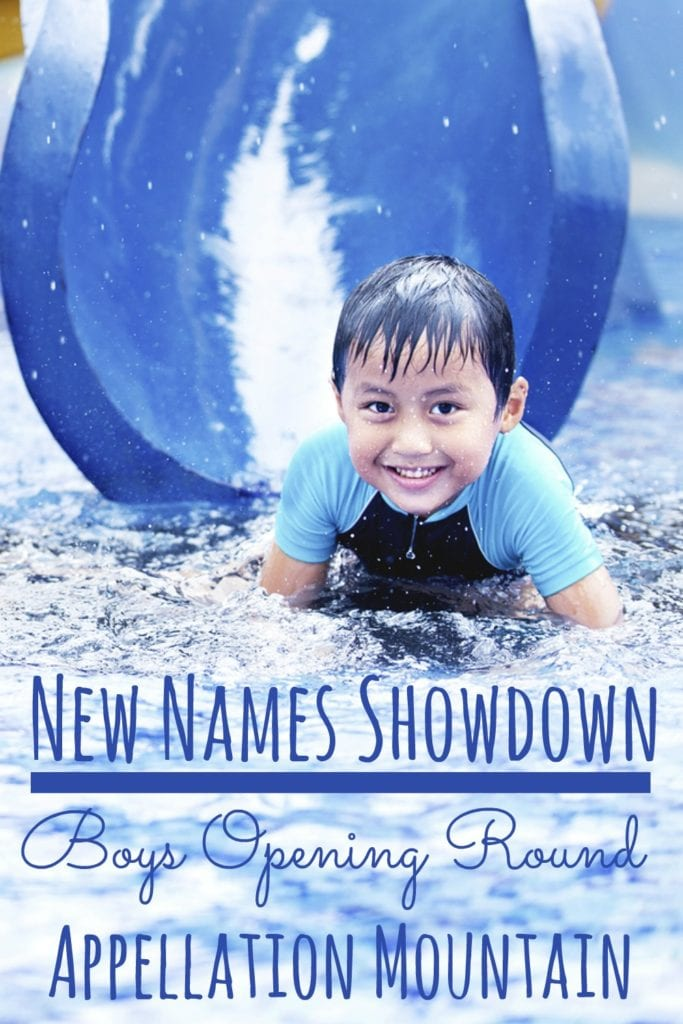 New Names Showdown 2016 Boys Opening Round
