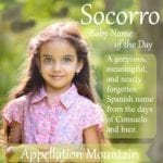 Socorro: Baby Name of the Day