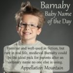 Barnaby: Baby Name of the Day