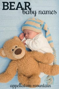 bear baby names