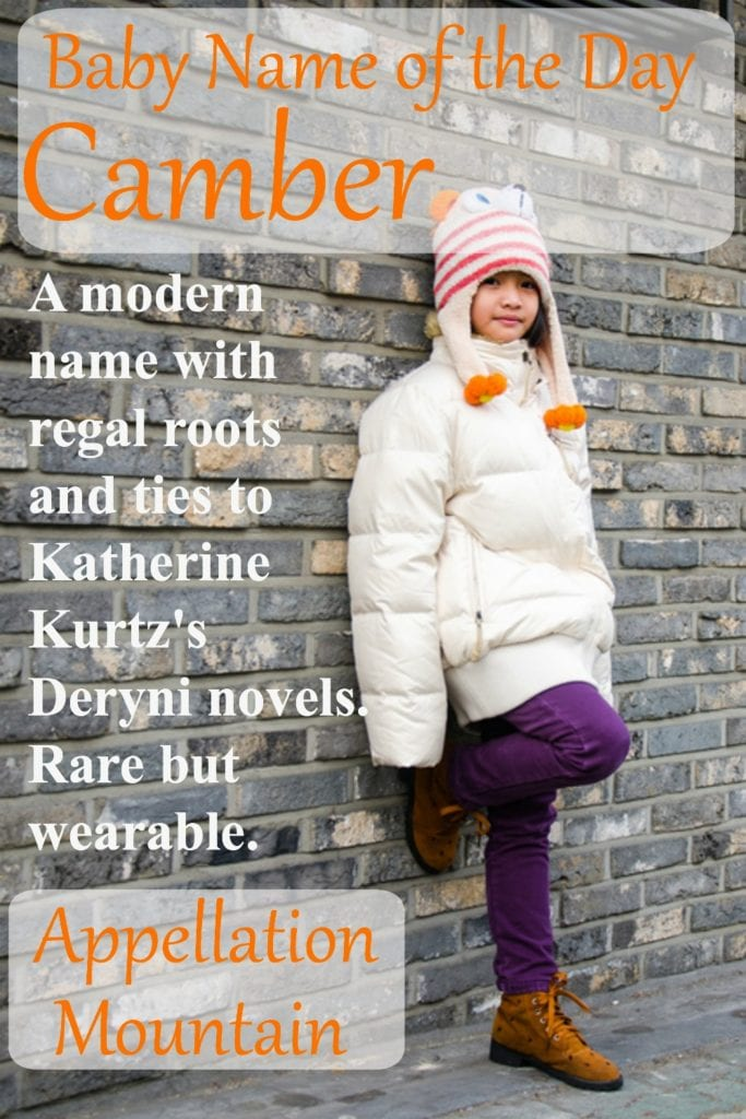 Camber: Baby Name of the Day
