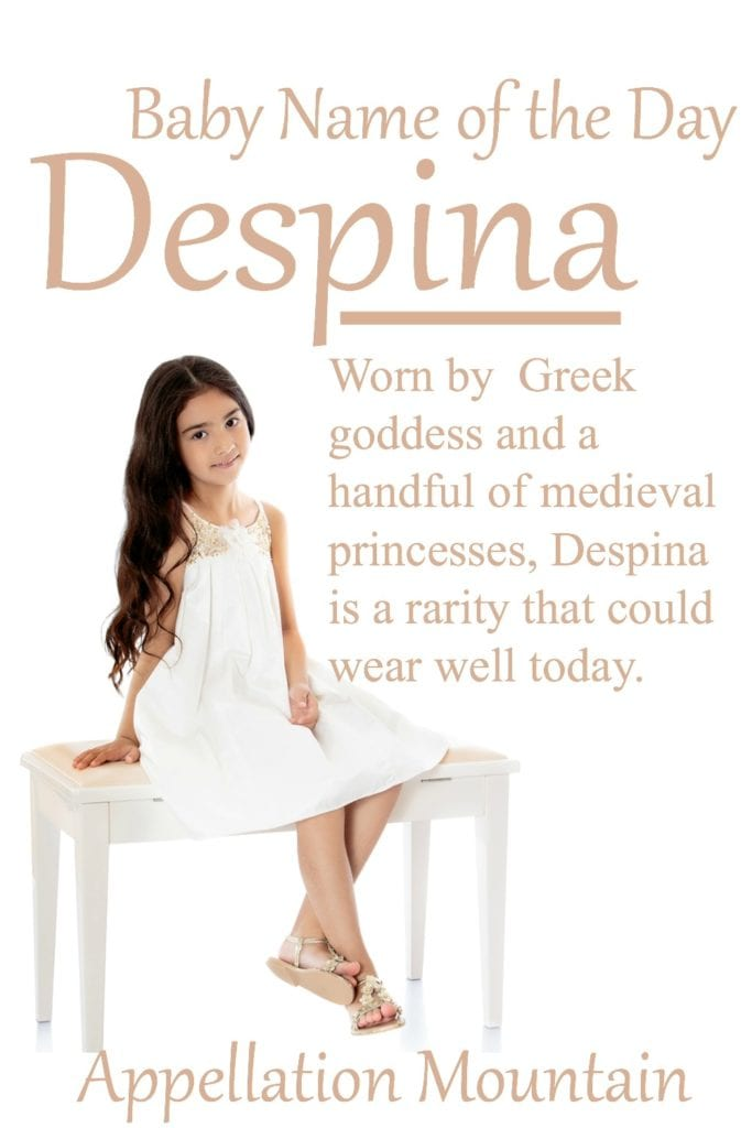 Despina: Baby Name of the Day