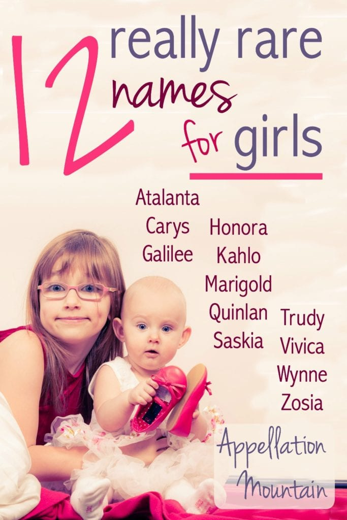 Do You Like Your Baby Names Rare This List Of Very Girl Is For