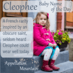 Cleophee: Baby Name of the Day