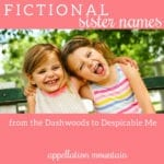 Favorite Fictional Sisters: Movies, Books and TV