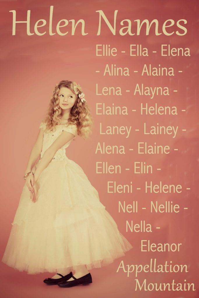Helen Names