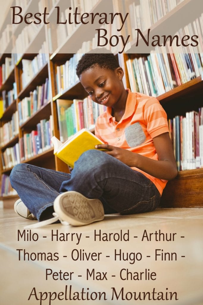 Literary Boy Names