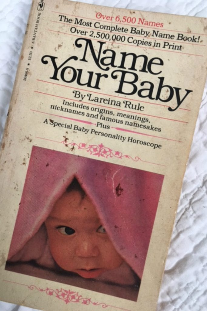 Fewer Baby Names - book