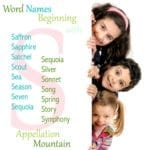 Word Names Beginning with S