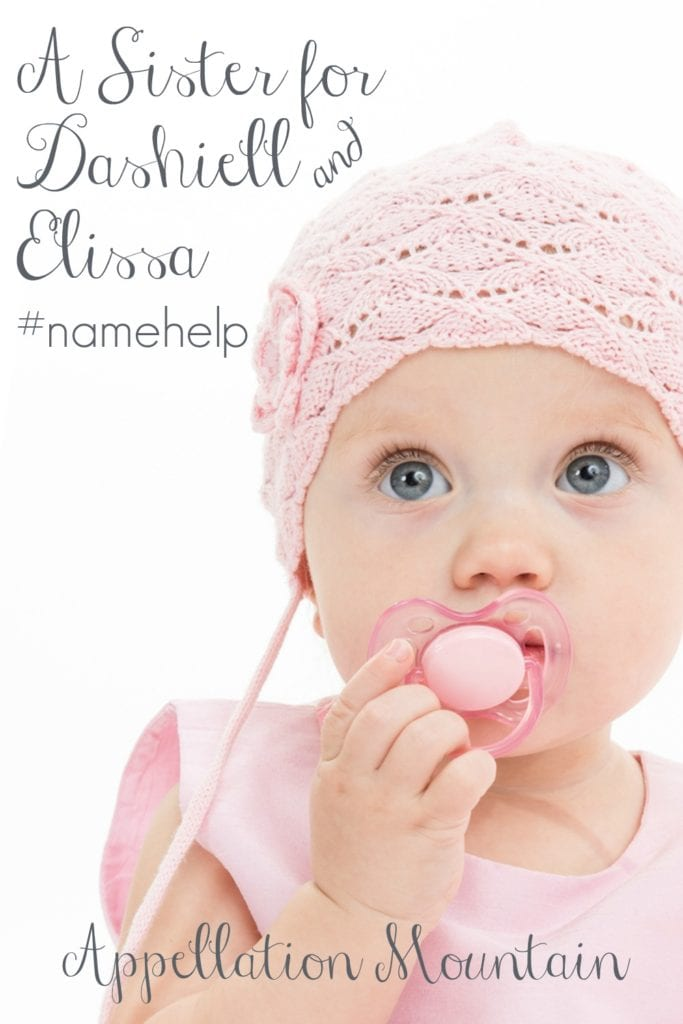 Name Help: A Sister for Dashiell and Elissa