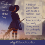 Salem: Baby Name of the Day