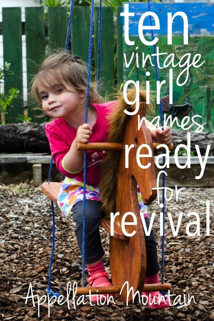 Vintage Girl Names