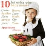 Best Modern Virtue Names: Ten Favorites