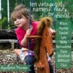 Vintage Girl Names: Ten Next Revivals