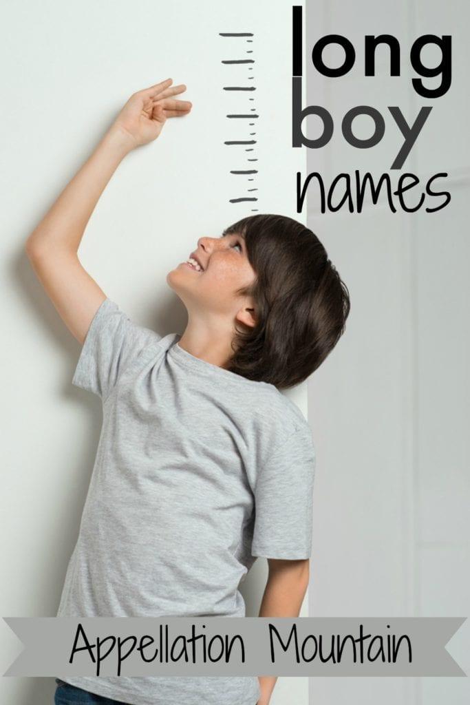 Long Boy Names