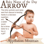 Arrow: Baby Name of the Day