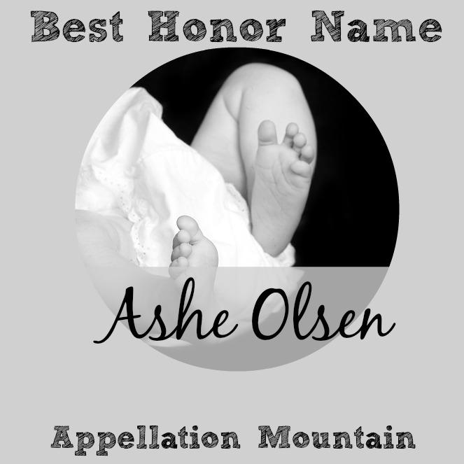 Celebrity Baby Names 2016: Ashe Olsen