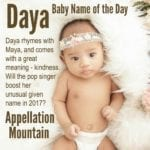 Daya: Baby Name of the Day