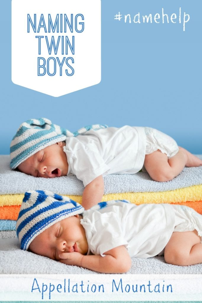 Naming Twin Boys