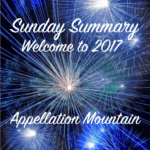 Sunday Summary: Welcome to 2017!