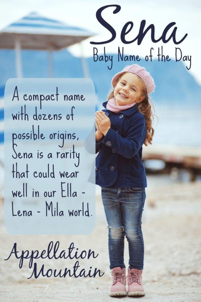 Sena: Baby Name of the Day