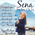 Sena: Baby Name of the Day