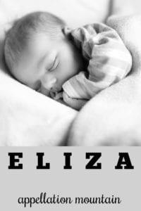girl name Eliza