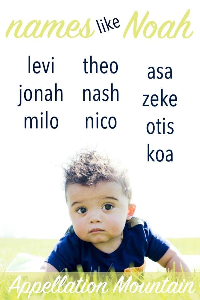 Names like Noah