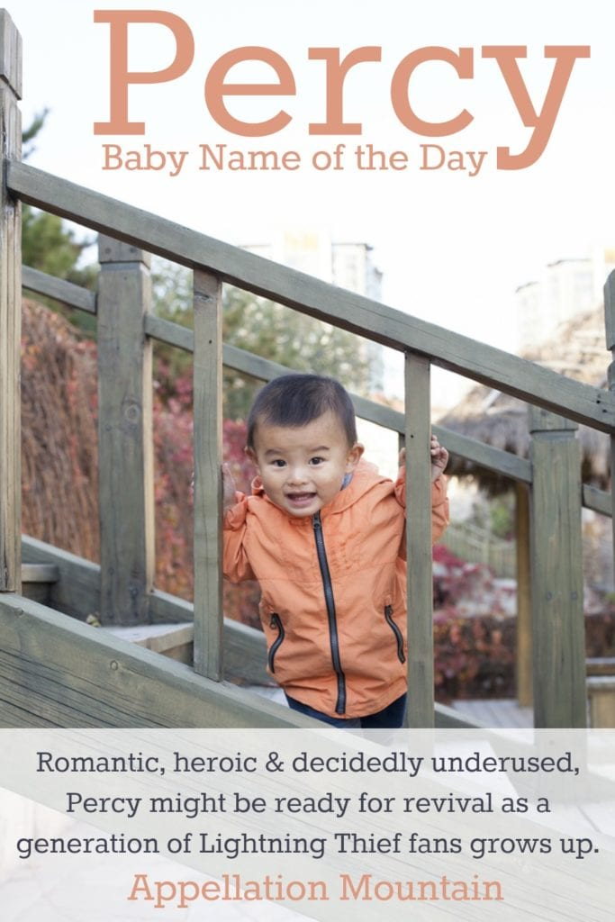Percy: Baby Name of the Day